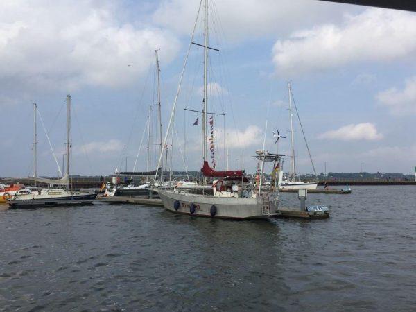 erster Heimathafen Stralsund 1